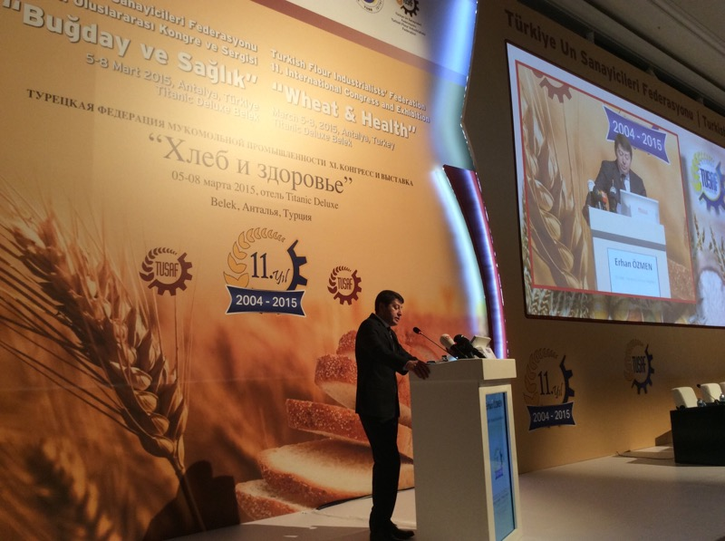 Erhan Ozmen takes the floor
