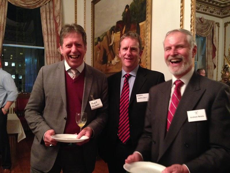 (L-R) Roger Gilbert, Brian Wilkinson, Graham Henry