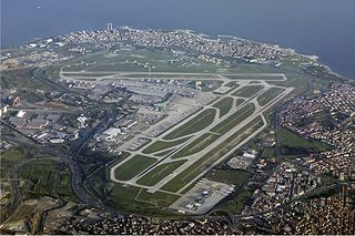 Ataturk International Airport: the Istanbul Expo Center, which hosts IDMA 2013, is next door