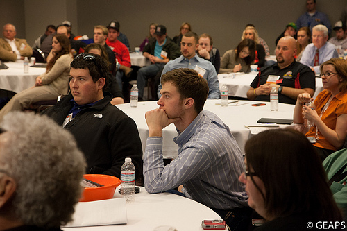 At 2013's GEAPS Expo, the engineers of tomorrow are giving the engineers of today the usual courtesies
