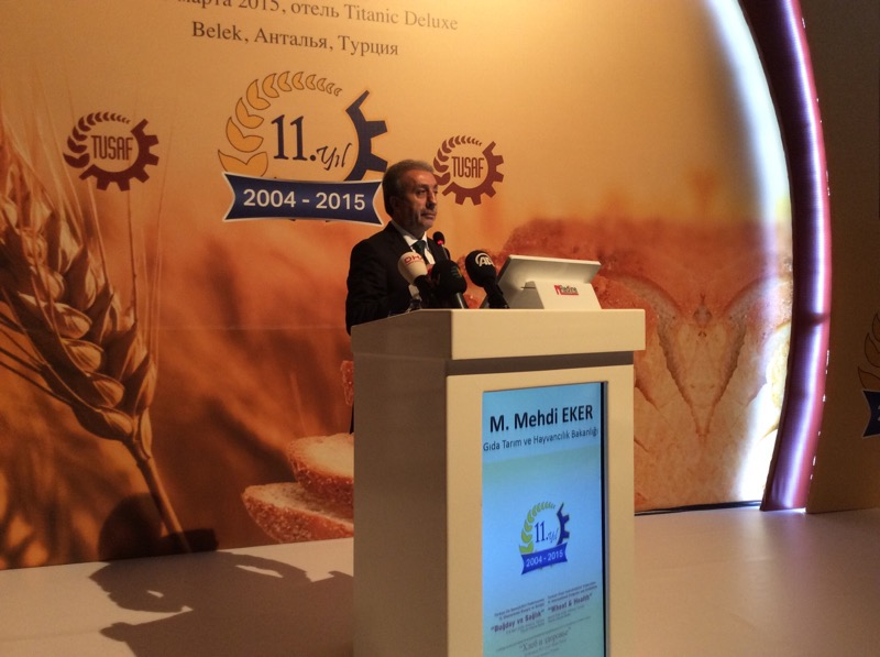 Mr Mehdi Eker - Government Minister, Ministry of Food, Agriculture and Livestock
